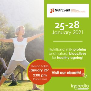 event nutrevent healthy ageing innovation dairy ingredients bioactive proteins for seniors