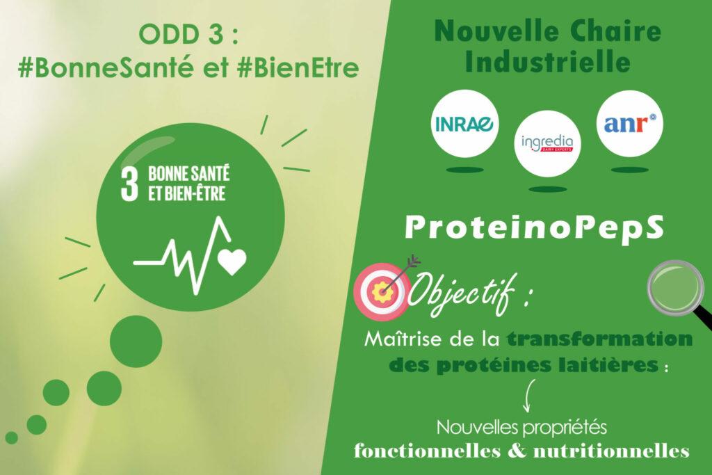 chaire industrielle proteinoPepS acteurs INRAE protéines fonctionnelles nutritionnelles