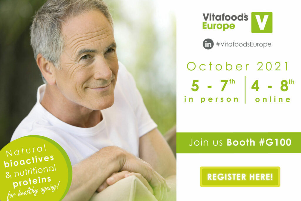 event vitafoods healthy ageing senior wellness bioactive ingredient for health